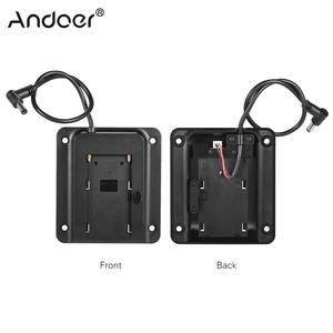 Image 1 - Andoer Pin Adapter Cơ Sở Pin Tấm Tấm cho Lilliput FEELWORLD Monitor cho Sony NP F970 F550 F770 F970 F960 F750 Pin