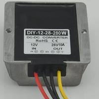 DC DC Converter 12V 9V 27V Step Up To 28V 10A 280W Waterproof Boost Power Module