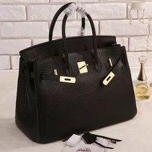 Luxus togo echte lederne beutel berühmte marke designer handtaschen hohe qualität büro damen tote umhängetaschen für frauen 25 30 35