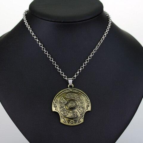 Defense of the Ancients DOTA 2 Aegis of Champion Necklace Immortal Champion Shield Pendant Lahore