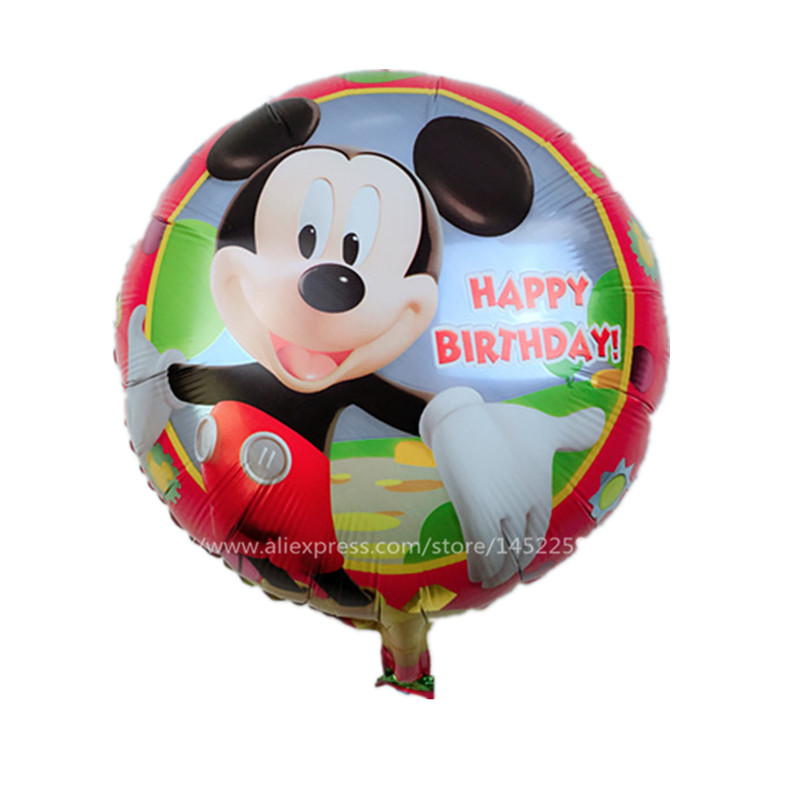 XXPWJ free shipping Aluminum helium balloons party decoration / cartoon series M