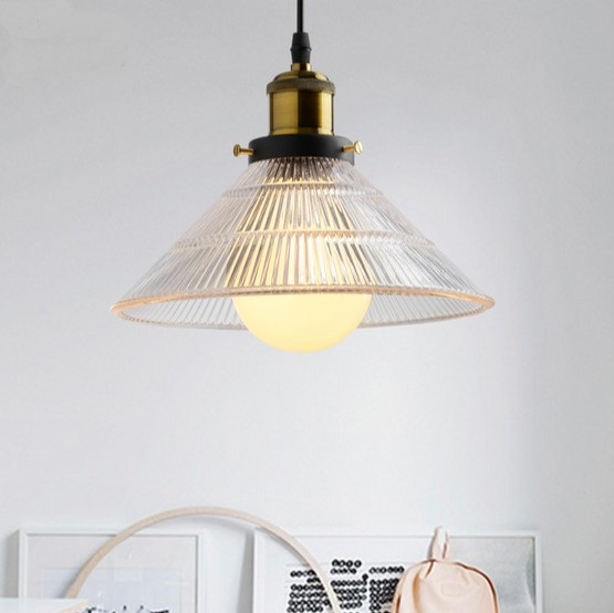 Nordic Loft Style Glass LED Pendant Light Fixtures Vintage Industrial Lighting For Dining Room Bar Hanging Lamp Lustres De Sala nordic resin retro loft style industrial lighting vintage pendant lamp fixtures dinning room led hanging light lamparas