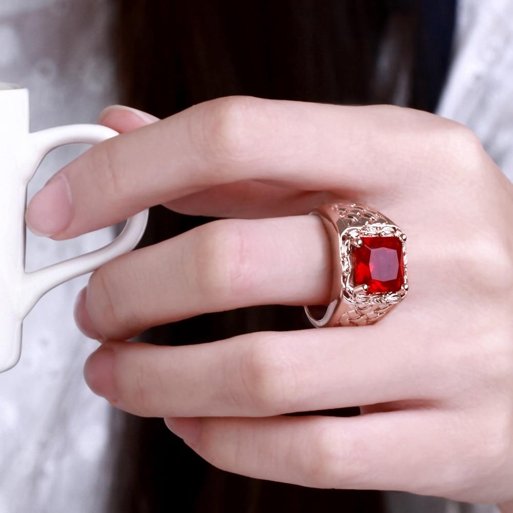 Aliexpress.com : Buy Fashion Men Ring Jewelry Brass Stainless Steel ...