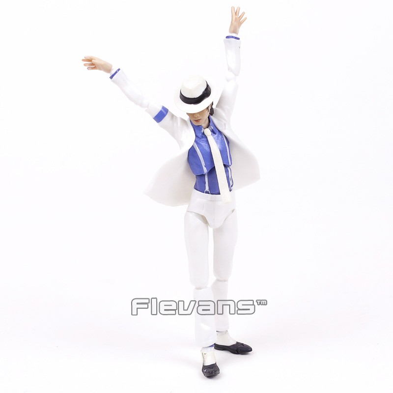 S.H.Figuarts Michael Jackson Smooth Criminal Moonwalk PVC Action Figure Collectible Model Toy