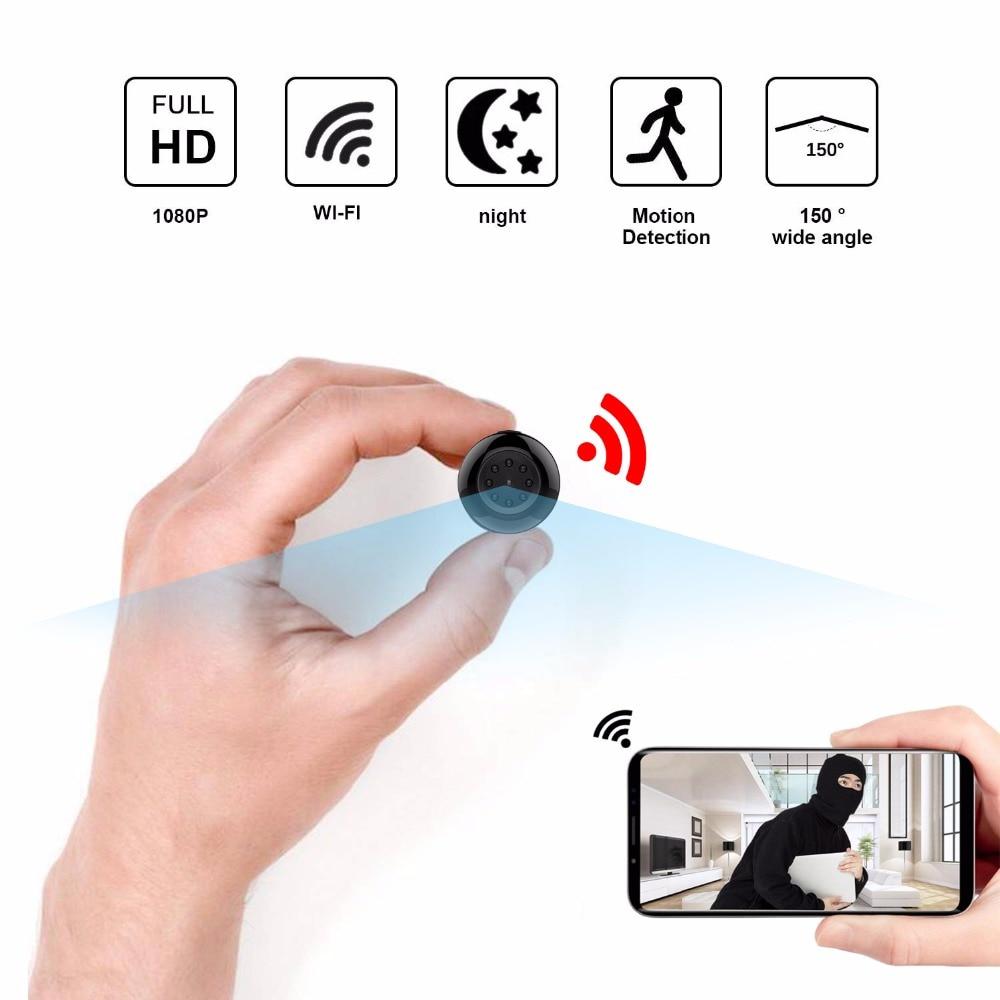 SQ17 cctv Wifi Mini Camera Wireless 1080P Night Vision MINI Micro Camcorder Motion Detection Home Security cam Video Recorder все цены