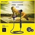 Sem fio Fones De Ouvido Awei A920BL Esportes Sem Fio Fone de Ouvido Estéreo Fones De Ouvido de Redução de Ruído Bluetooth V4.0 Esporte Fone De Ouvido com Microfone