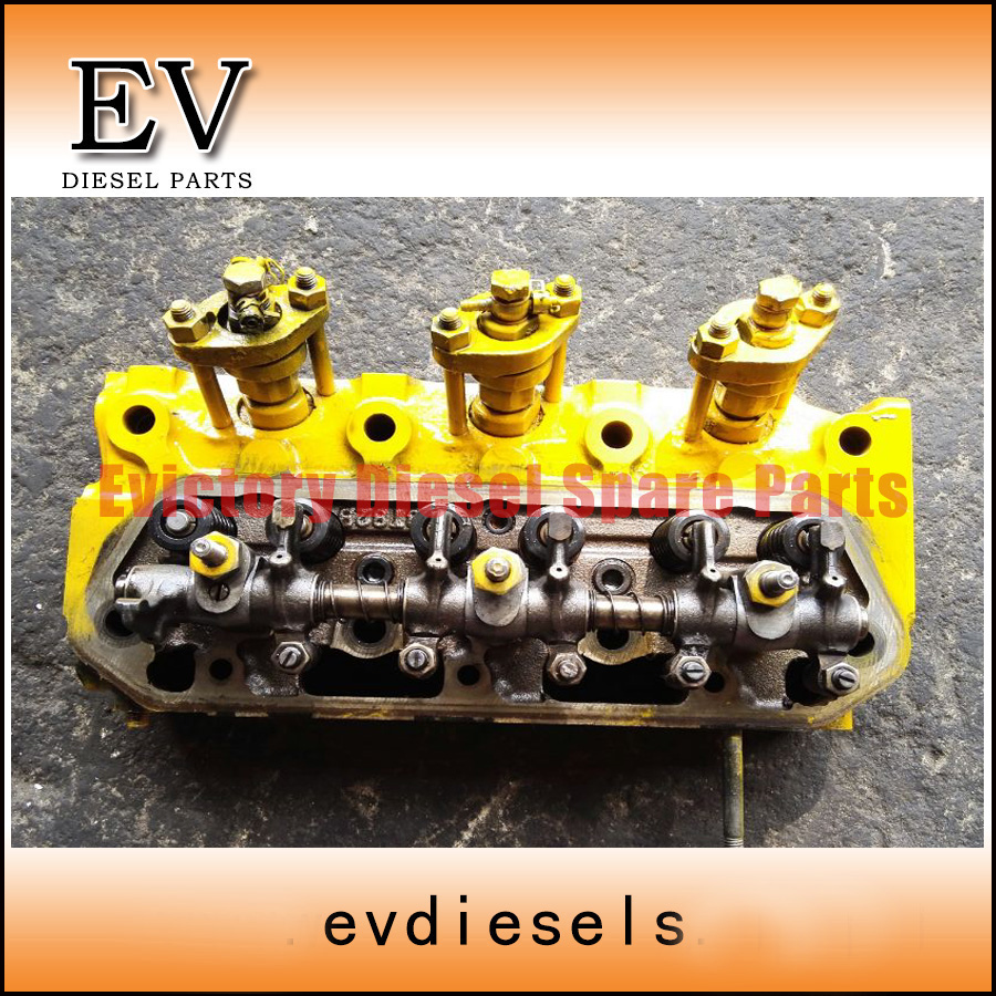 US $780 0 |3T82B 3TN82 3TN84 3D84 1 3T84HLE cylinder head assy For Komatsu  Mini Excavator-in Block & Parts from Automobiles & Motorcycles on