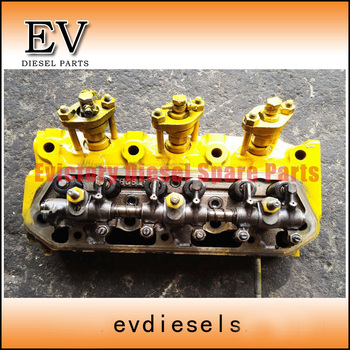 3T82B 3TN82 3TN84 3D84-1 3T84HLE cylinder head assy For Komatsu Mini Excavator