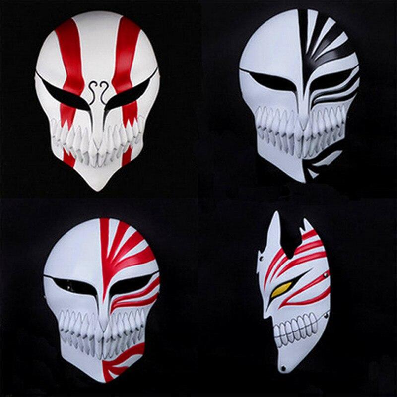 5 Style Party Cosplay BLEACH Kurosaki Ichigo Emptiness Mask PVCAction Figure Collectible Model Toy Halloween Gift P1546