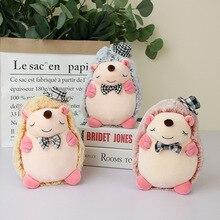 20cm Gentleman Hedgehog Doll Plush Toys Stuffed Animal Cartoon Small Children Toy Gift