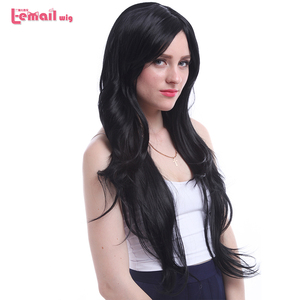 Image 3 - L email wig New Arrival Women Wigs 6 Colors 80cm Long Straight Heat Resistant Synthetic Hair Perucas Cosplay Wig
