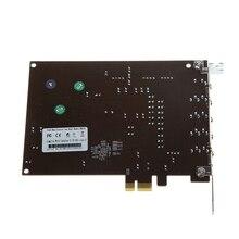 Pc Computer Pci-E 0105 Chip 501 Sound Track Directsound 3D Desktop Audio Card цена и фото