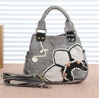 New Fashion Multi Use Women Shopping Bags Hot Appliques Shoulder Handbags Top Lady Casual Carrier Versatile