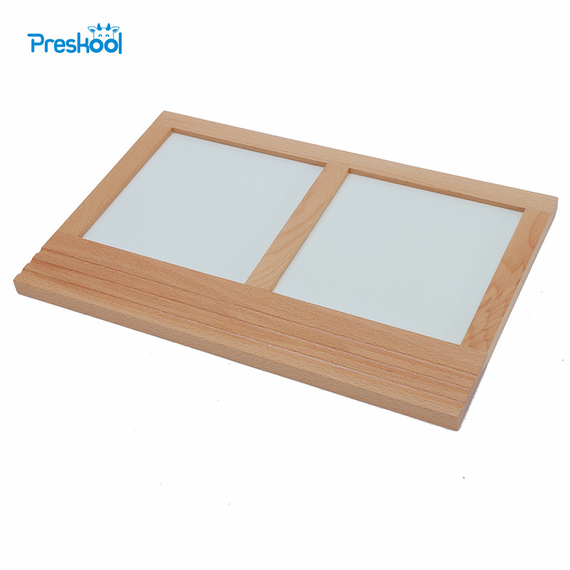 Baby Toy Montessori Metal Inserts Tracing Tray Shape Geometric Drawing Board Early Childhood Education Kids Brinquedos Juguetes