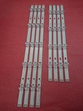 New Original 8pcs/set LED Backlight strip for LG 47LB6200 47LB5300 47LB570V 47LB652 47LB652V 47LB6300 47LF5610 6916L 1961A 1962A