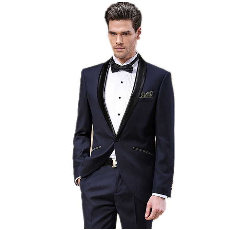 Popular Full Slim Blue Suits for Man-Buy Cheap Full Slim Blue ...
