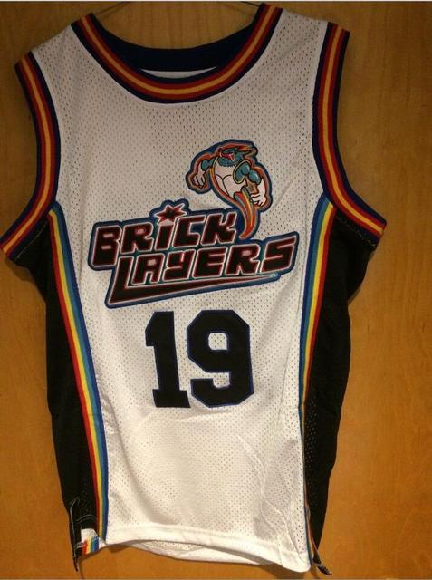 e7a980d0ce7 lincoln 34 shuttlesworth white movie stitched jersey; usa dropship aaliyah  19 bricklayers 1996 mtv rock n jock basketball stitched jersey white s