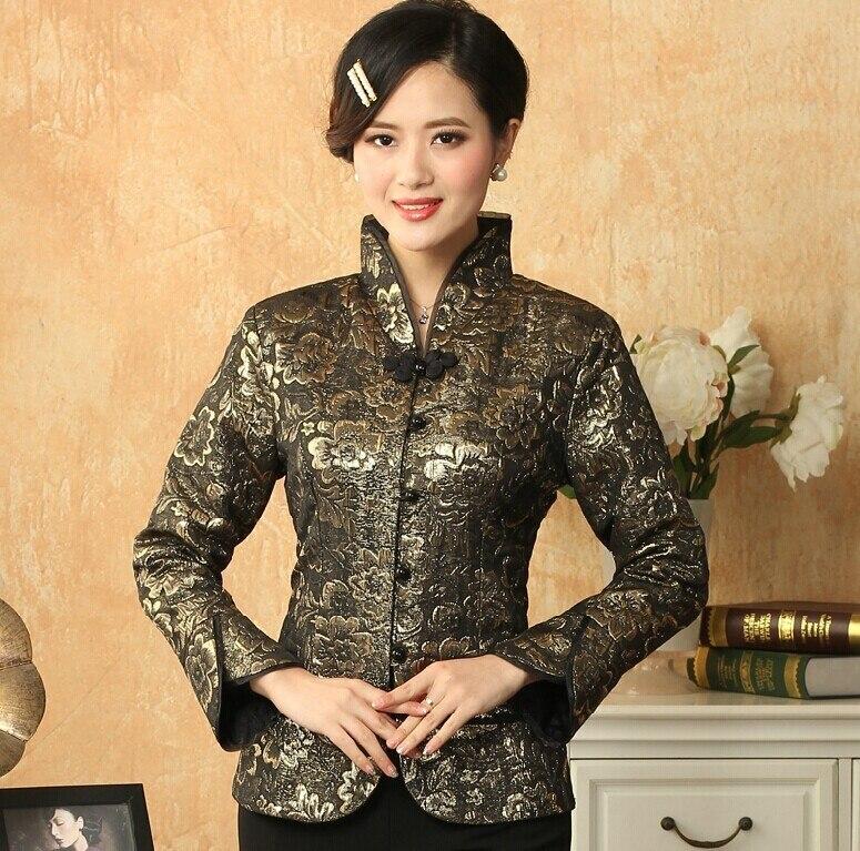 Venta caliente estilo chino tradicional de las mujeres capa de la chaqueta de sa