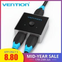 Vention HDMI Splitter Switch HDMI 2.0 4K Bi-Direction Switcher 1x2/2x1 Adapter 2 in