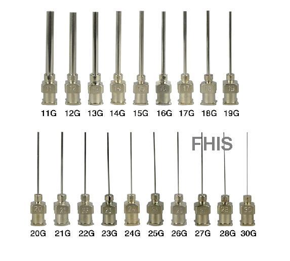 11g 30g Metal Stainless Steel Dispensing Needles Blunt 1
