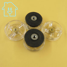 6 Replacement Spare Parts Blender Juicer Parts 2 Rubber Gear 4 Plastic Gear Base For Magic Bullet 250W New Unused 38% Off