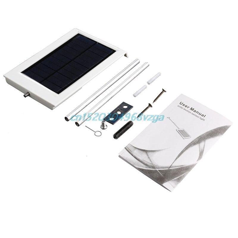 LED Ultra Thin Waterproof Solar Sensor Light Control Lamp Outdoor Garden Lamp Better H028