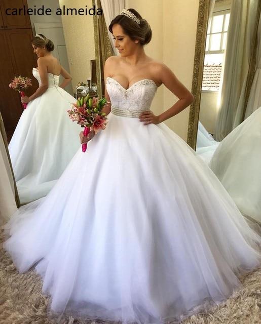 Vestido De Noiva 2018 Princess Wedding Dress Ball Gown Off: Vestido De Noiva Ball Gown Princess Wedding Dress 2018