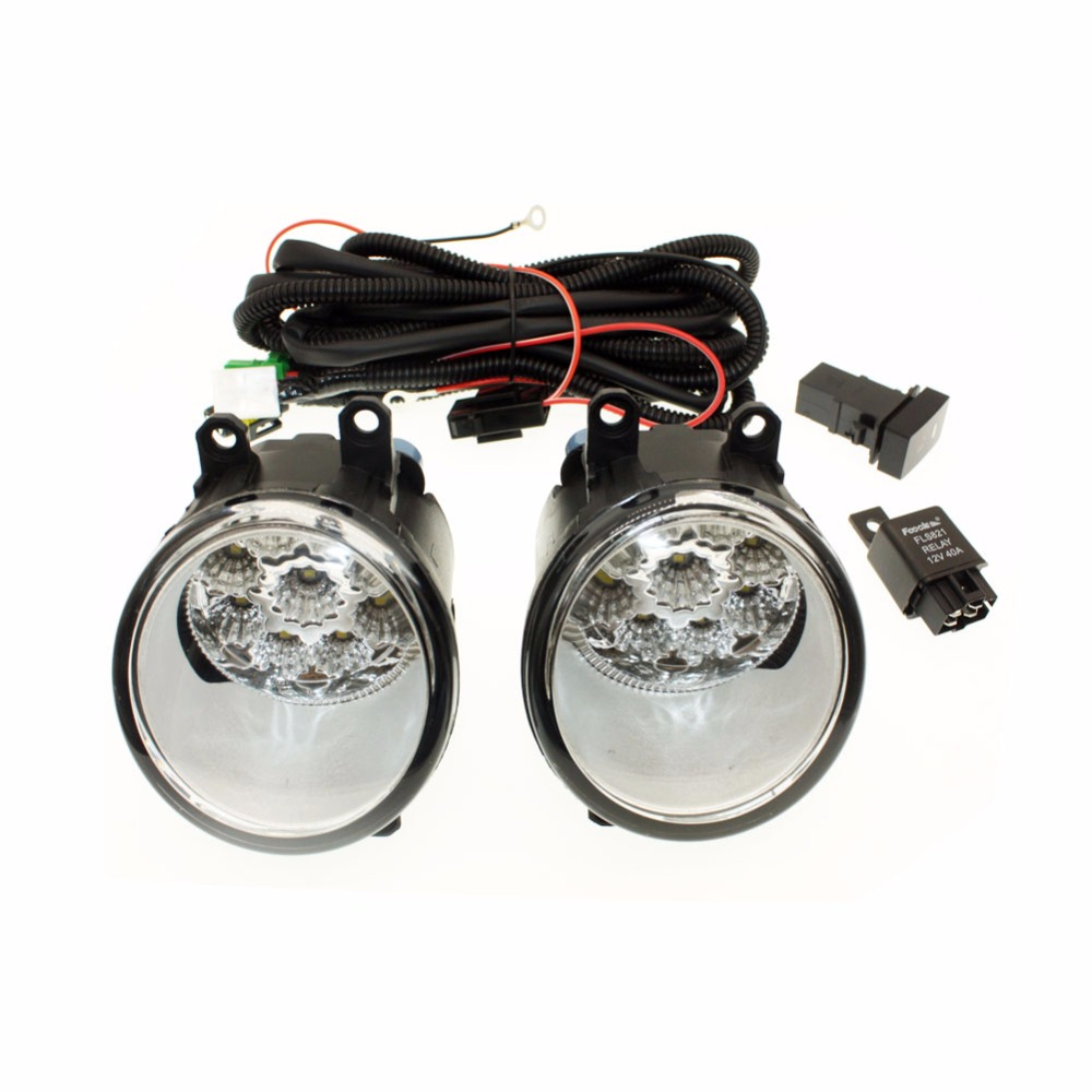 For Lexus Hs250h 2010 2012 H11 Wiring Harness Sockets Wire Connector Switch 2 Fog Lights Drl Front Bumper Halogen Lamp In Car Light Assembly From