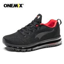 ONEMIX 2018 été nouvelles chaussures de course pour hommes Air coussin chaussures de course en plein Air chaussures de marche hommes Eur 39-46 livraison gratuite