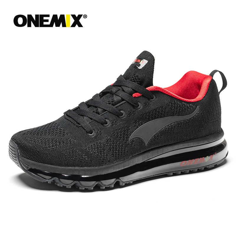 ONEMIX 2018 صيف جديد احذية الجري للرجال وسادة هوائية احذية الجري في الهواء الطلق أحذية مشي الرجال Eur 39-46 شحن مجاني