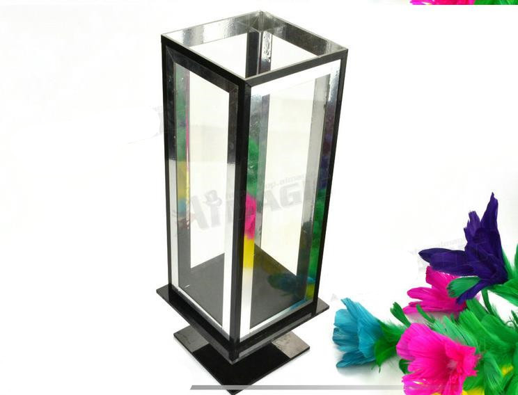 Clarity Box to flower,flower magic,Small glasses box,stage magic tricks,mentalism,close up magic props,street,comedy super mini umbrella in 21cm 3 colors stage magic trciks mentalism close up magic props stage street