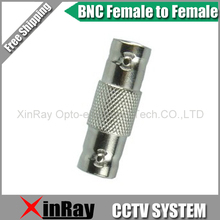 Free Shipping 20pcs BNC Female TO Female,Camera DVR Connector Adapter,CCTV Accessories ,Wholesale XR-AC27