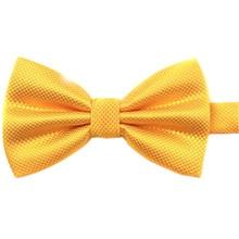 MYTL мужской простой полиэстер предварительно привязанный Свадебный галстук-бабочка(Золотой