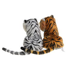 2018 Cute Children Kids Soft Plush Tiger Animal Toys Lovely Stuffed Doll Pillow Gift JUL26_17(China)
