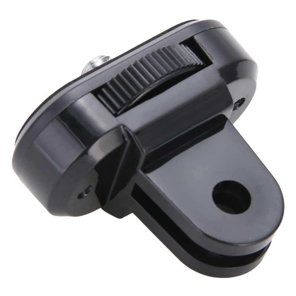 Экшн-камера до 1/4 ''преобразователь резьбы для GOPRO в прочное простое управление ABS Адаптер штатива широко применимый