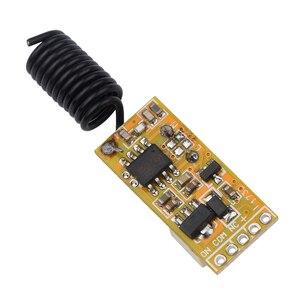 Image 5 - Kebidu Mini relais sans fil commutateur télécommande 3.5 12V contrôleur de lampe à LED dalimentation Micro récepteur émetteur pour lumières fenêtres