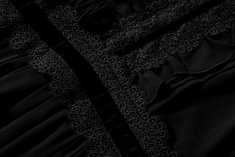 المرقعة المدرج Limo فستان 14