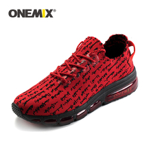 цена ONEMIX Autumn Women Shoes Breathable Mesh Sneakers Wearable Antislip Sweat Soft Running Shoes Sneakers Lover Running Size3.5-9.5