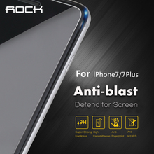 ROCK Premium Tempered Glass For iPhone 7/ 7 plus Screen Protector Ultra Thin 0.3mm 2.5D 9H Protective Film +Cleaning Kit