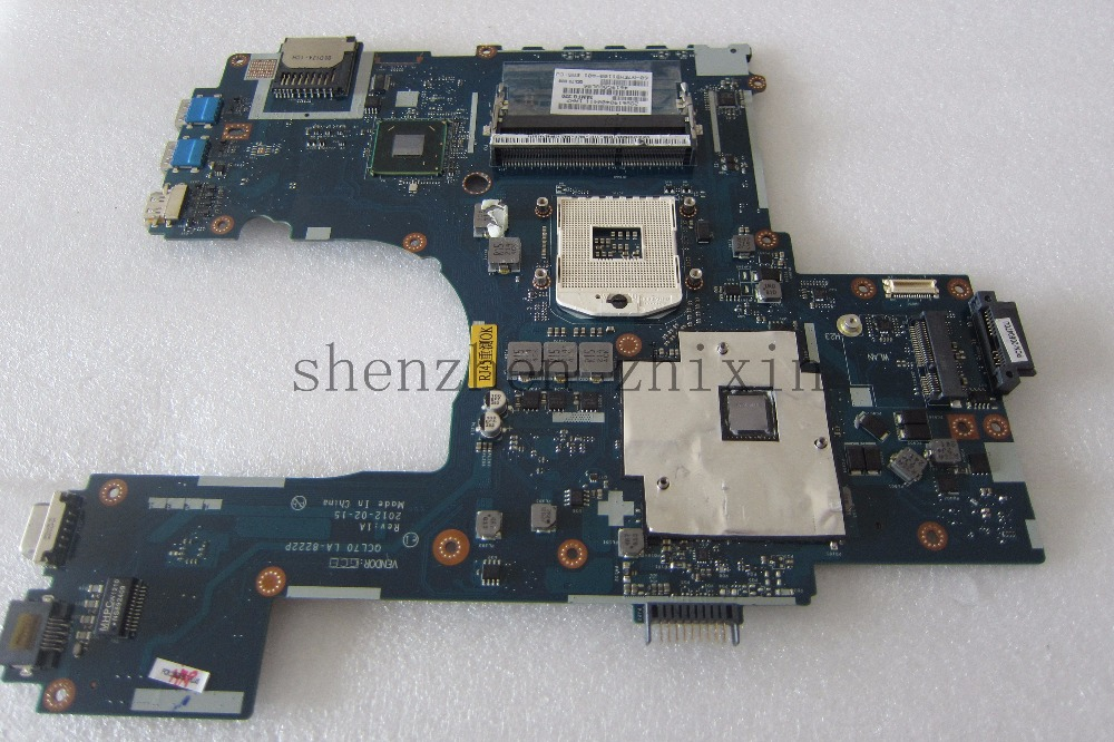 Free shipping!The laptop motherboard for ASUS K75 K75V K75VJ K75VM LA-8222P REV:1A With graphic card