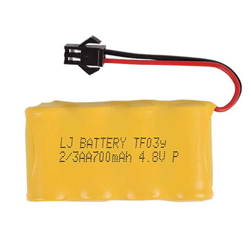 4.8v 700mah 2/3AA NI-CD M Battery Deformation Robot Remote Control Vehicle Rechargeable Battery Free Shipping