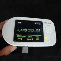 CMS VESD Fonendoscopio Новый Визуальный Электронный стетоскоп с ЭКГ, PR, SPO2 ПК программное обеспечение и обзор данных медицинское оборудование