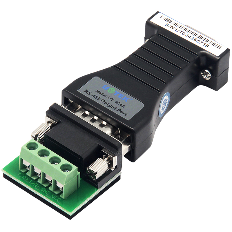 Industrial Automation Data Transmission Industrial RS232 To RS485 Serial Port Converter Enhanced Anti-surge And Anti-static