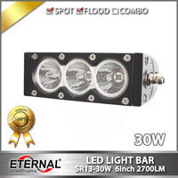 Free Shipping 12pcs 30W Truck Led Light Bar Driving Fog Lamp Trailer Tractor Heavy Duty Equipment