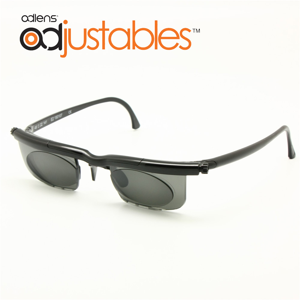 Adlens sundials Marcos tintado óptica Gafas de sol fuerza variable-6d A + 3D miopía aumento anti-uva/UVB foco ajustable