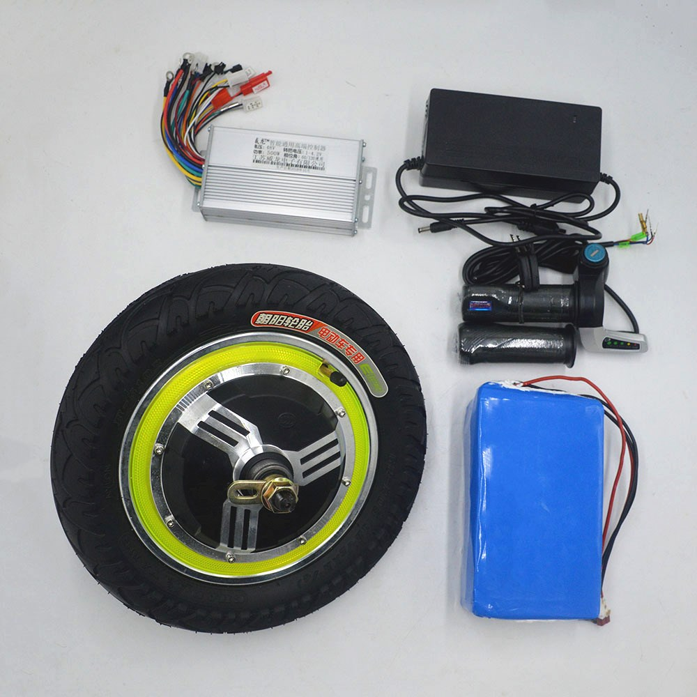 36V 48V 350W electric bicycle kit 12inch hub motor kit for electric scooter ebike DIY electric scooter kit 12inch hub motor brushless 36v 350w double shaft electric bicycle motor motorcycle double shaft energy scooter wheel for ebike