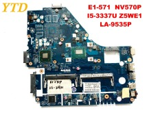Original for ACER E1-570 NV570P laptop motherboard E1-571 NV570P I5-3337U Z5WE1 LA-9535P tested good free shipping