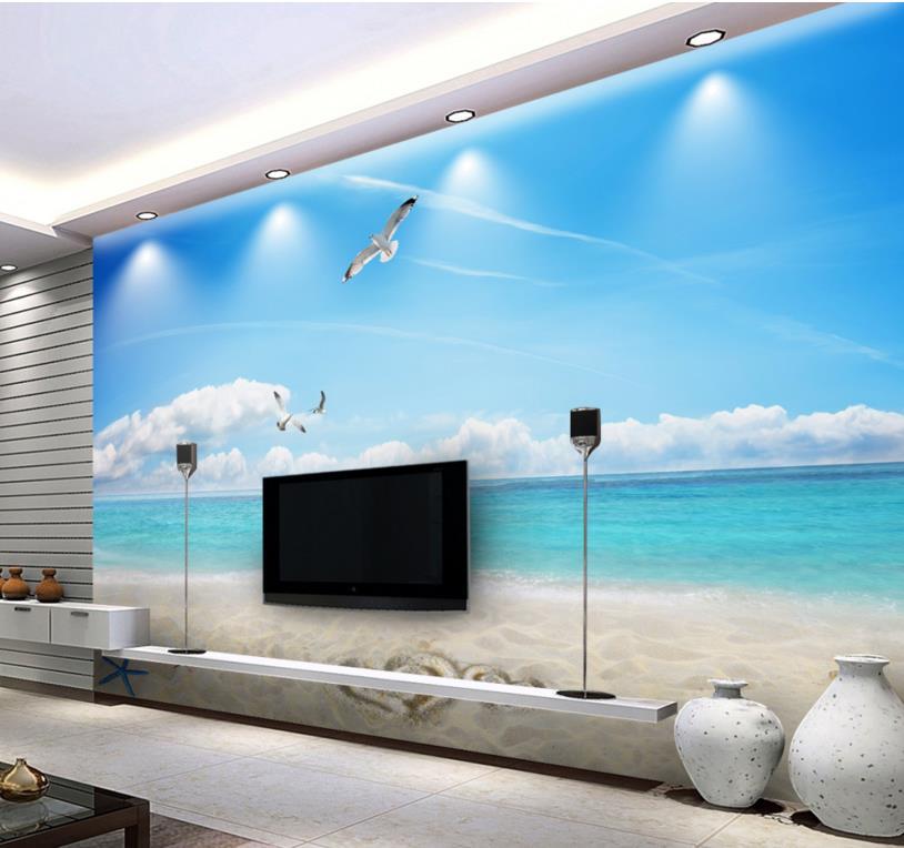 Online get cheap modern wallpaper blue for Cheap modern wallpaper
