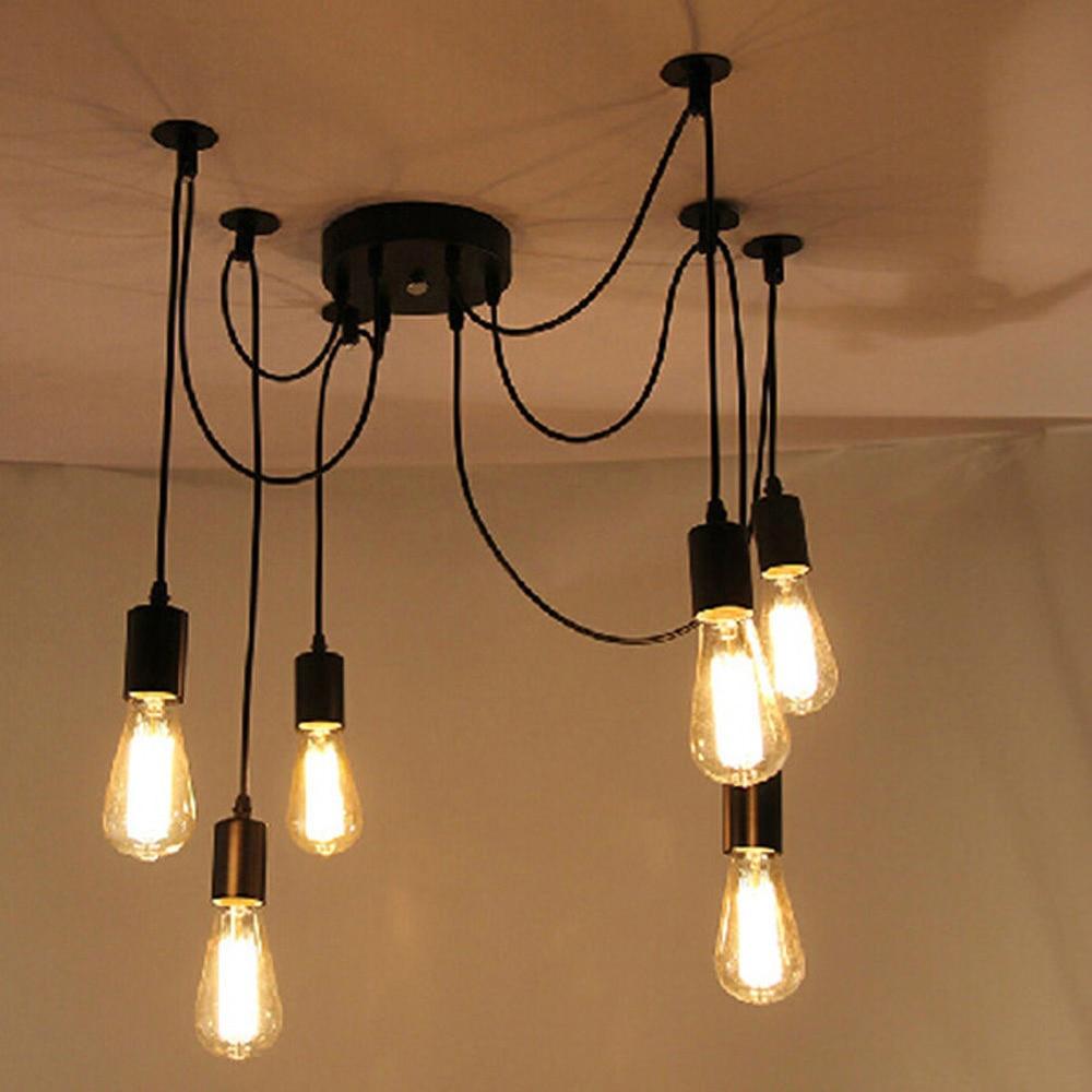 Acquista all'ingrosso Online Nero camera da letto lampadario da ...