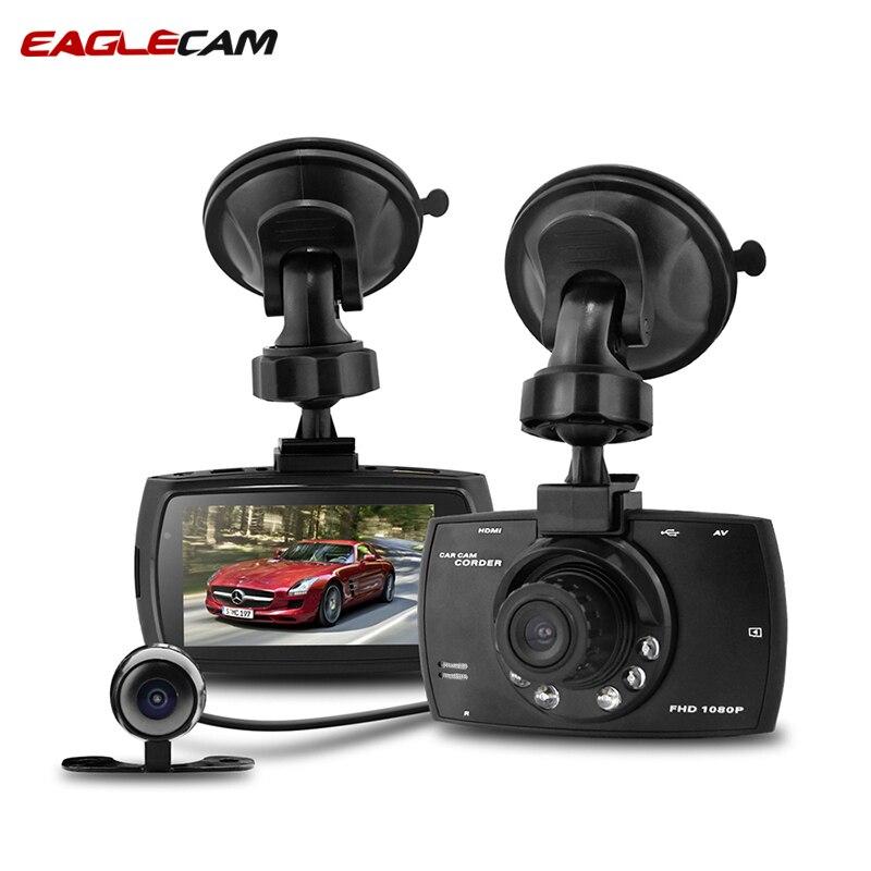 HD 1080 P écran Dash Cam G30B double lentille voiture DVR double caméra 2.7